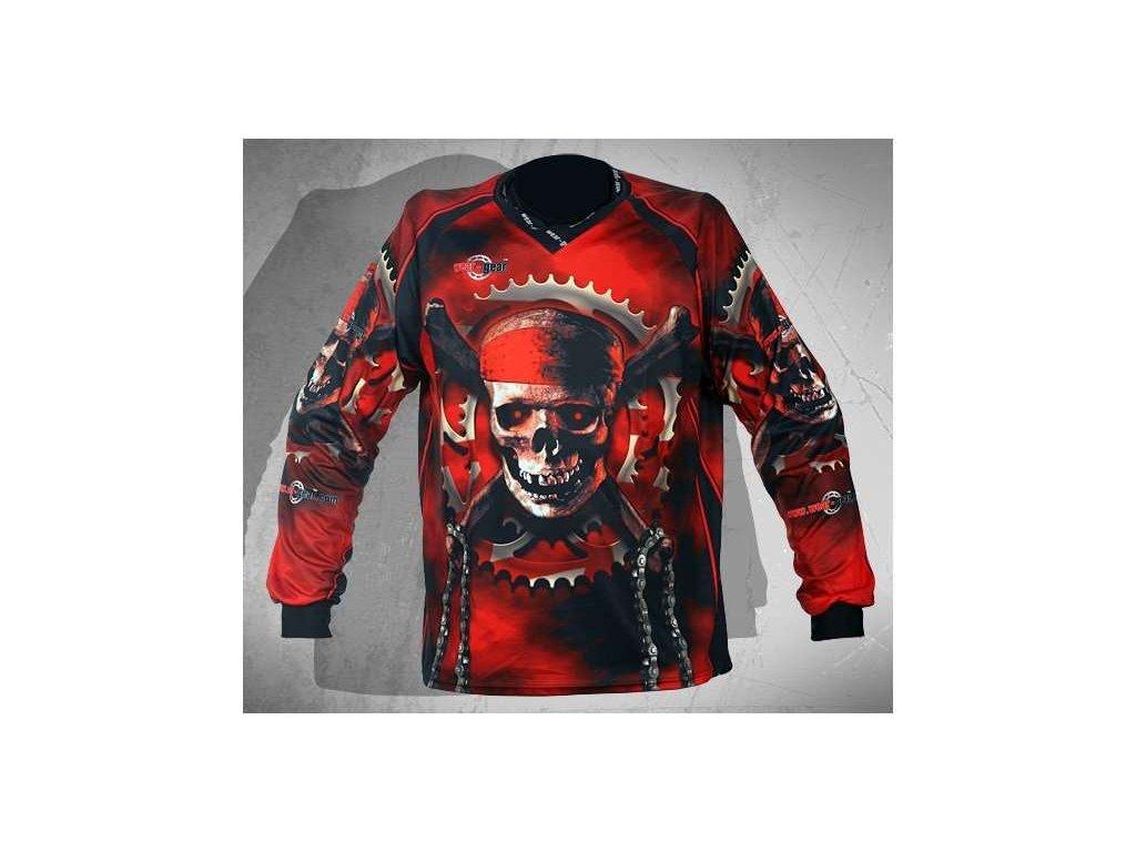 Wear Gear FR/DH dres Bones and Chains