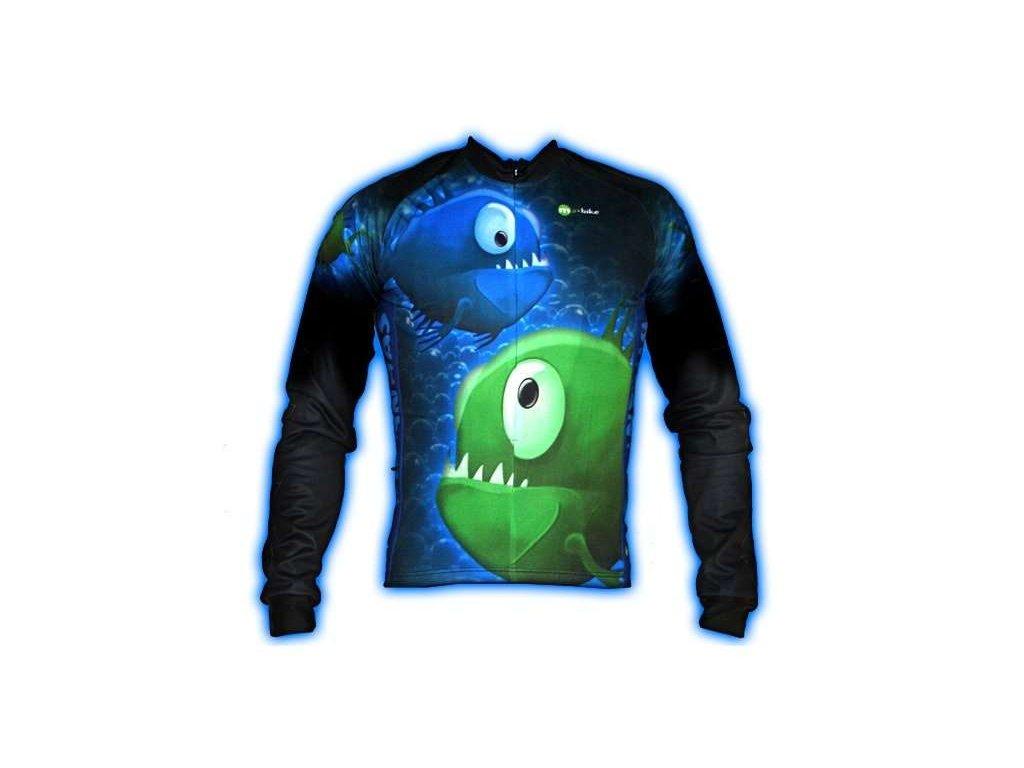 Wear Gear dres Piranhas! s dlouhým rukávem