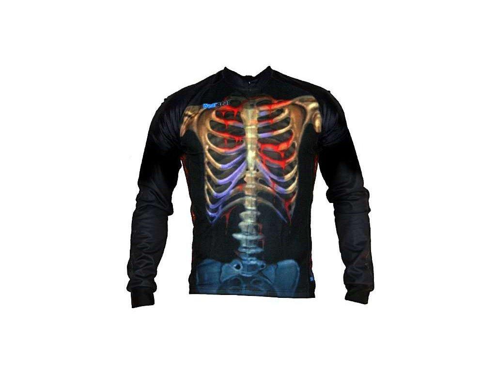 Wear Gear dres Oh My Bones! s dlouhým rukávem