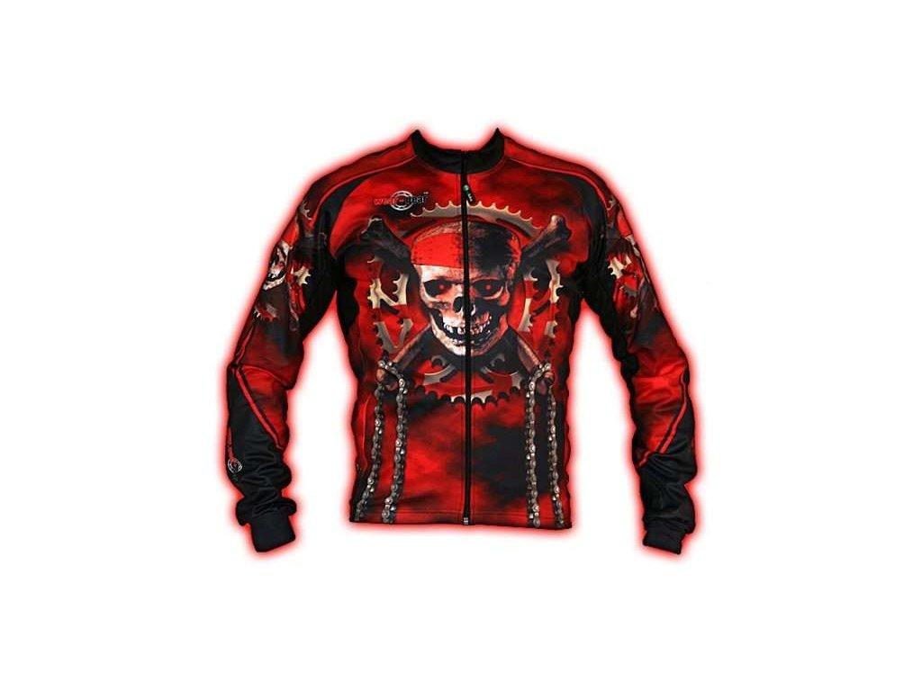 Wear Gear dres Bones and Chains s dlouhým rukávem