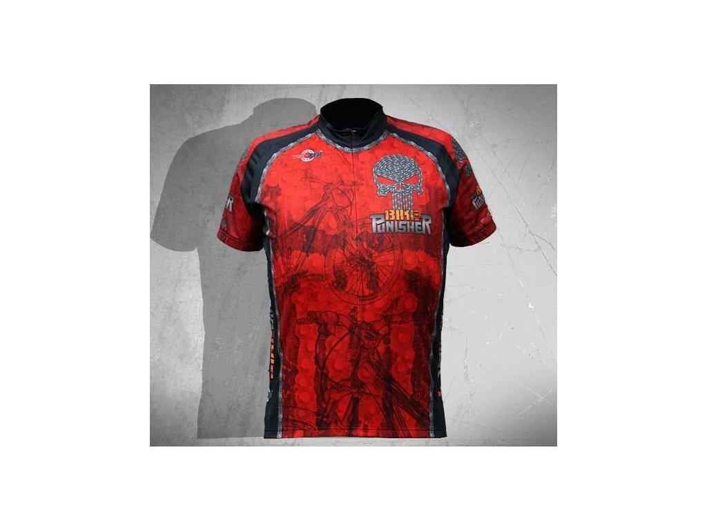 Wear Gear dres Bike Punisher Red