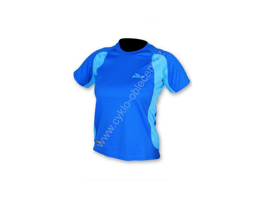 Rogelli dámské sportovní funkční tričko VIRGINIA, modré