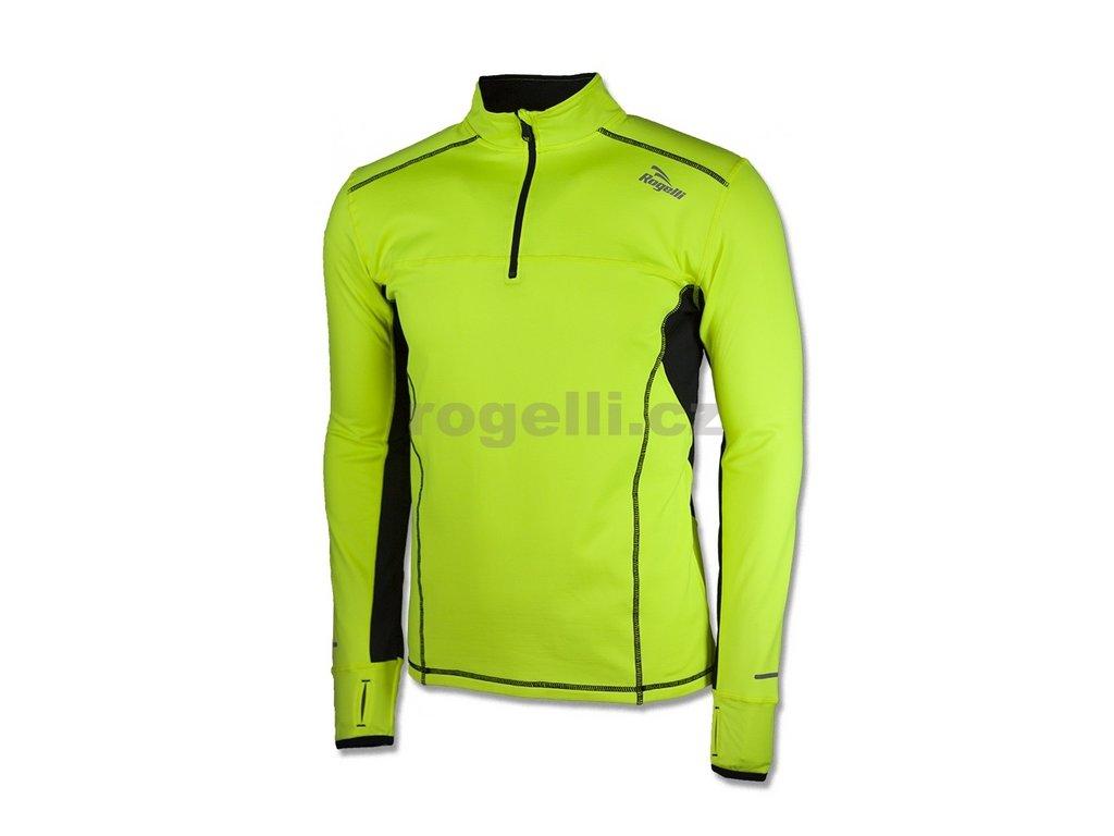Sportovní mikina Rogelli PARSONS, refl. žlutá