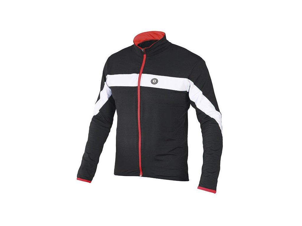 Etape - pánský dres Comfort, černá/bílá