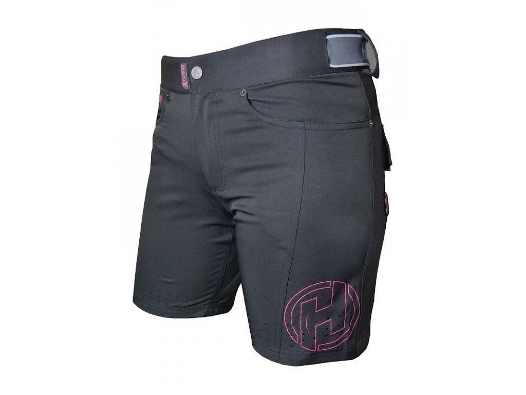 Kraťasy HAVEN Amazon Black/Pink