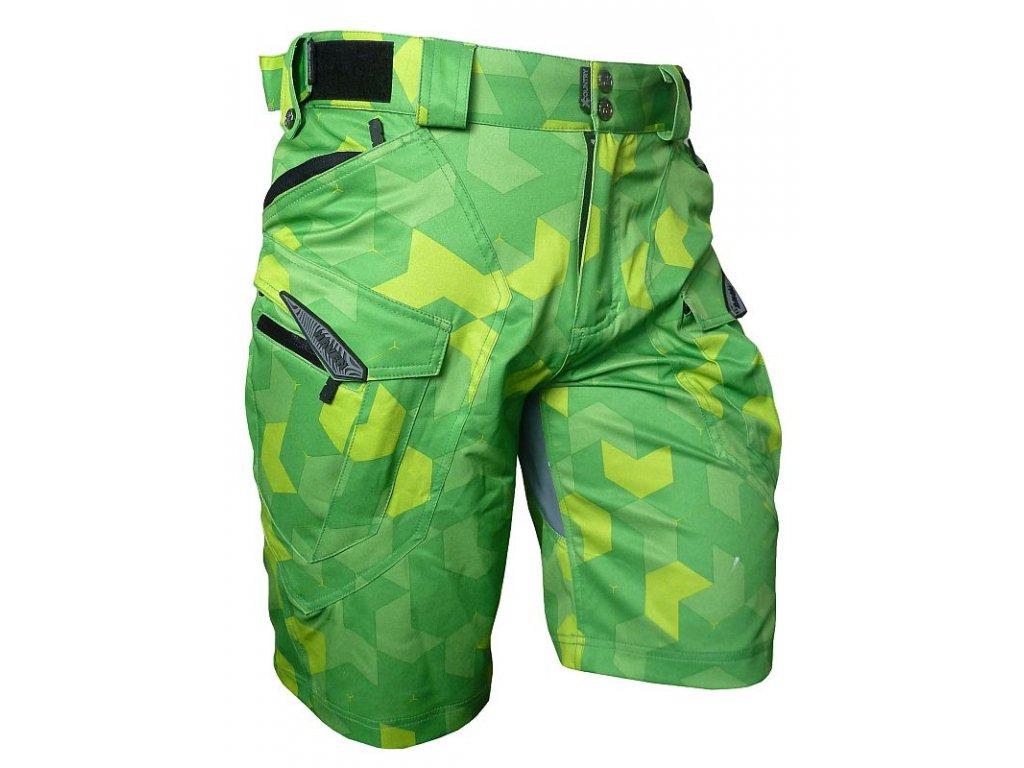 Kraťasy HAVEN Cubes NEO Green
