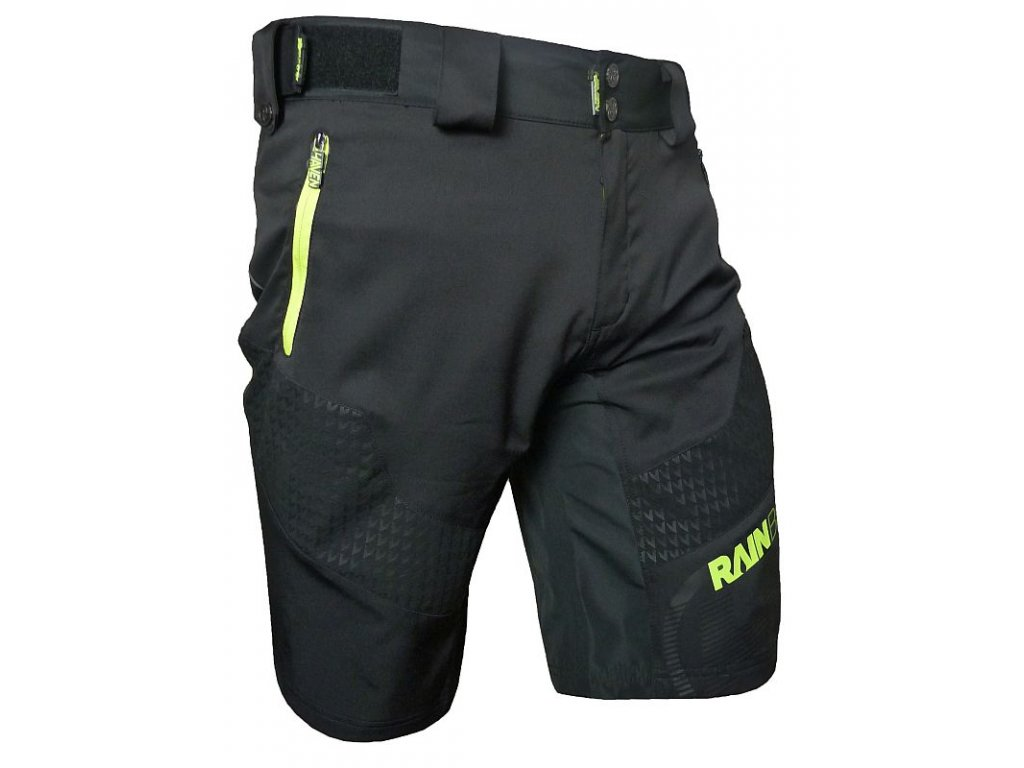 Kraťasy HAVEN Rain Brain Black/Green