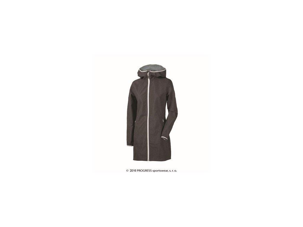 RIGA dámský softshellový kabát černý