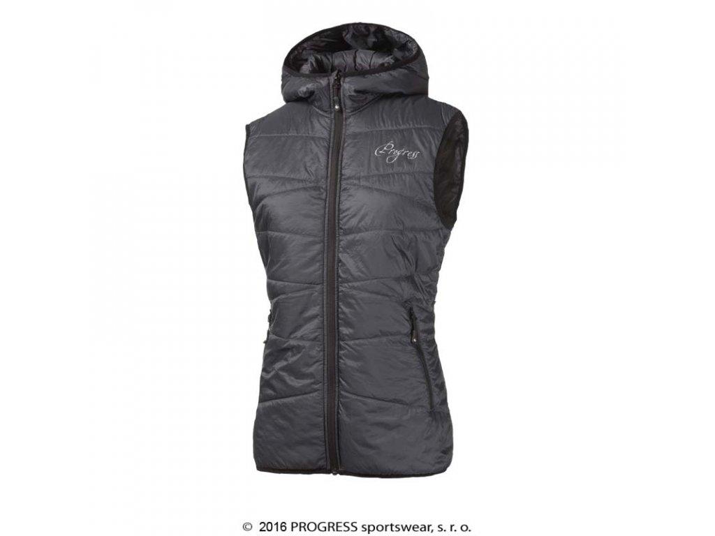 MIRI dámská zateplená vesta s kapucí
