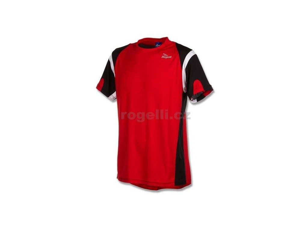 Funkční tričko Rogelli DUTTON, červeno - černo - bílé