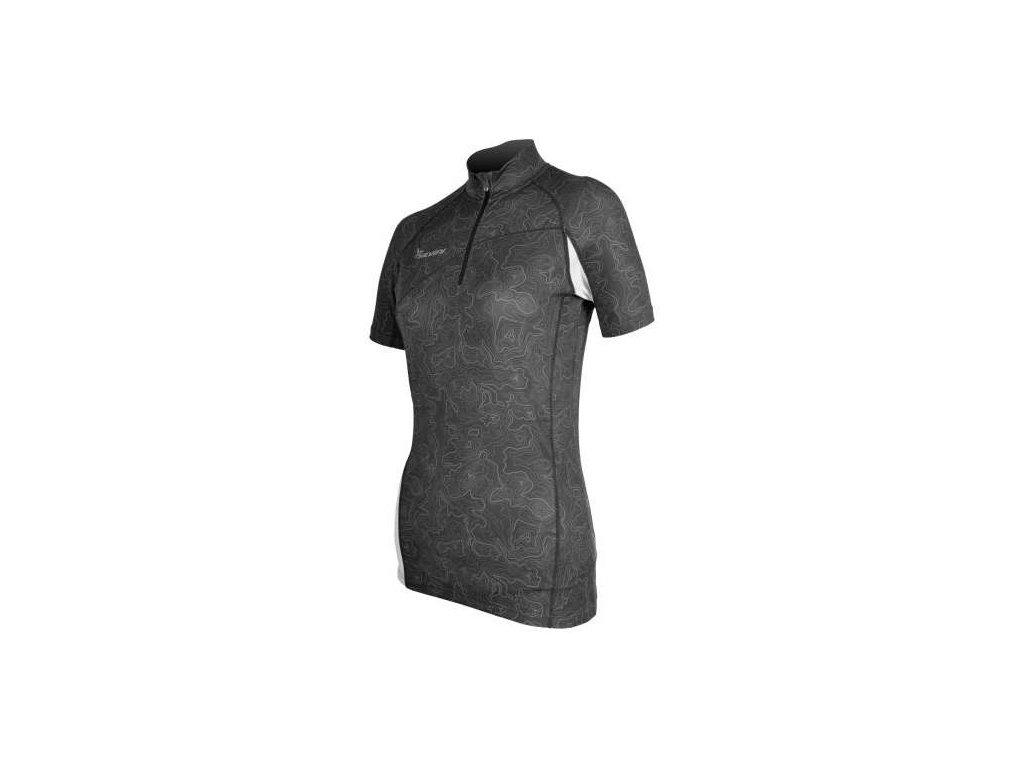 SILVINI dámské cyklistické triko DONNA WD471 grey