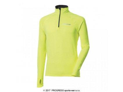 Progress KAMIL HI-VIZ pánský funkční sportovní pulovr