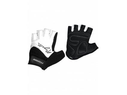 Dámské rukavice na kolo Rogelli DOLCE, bílé