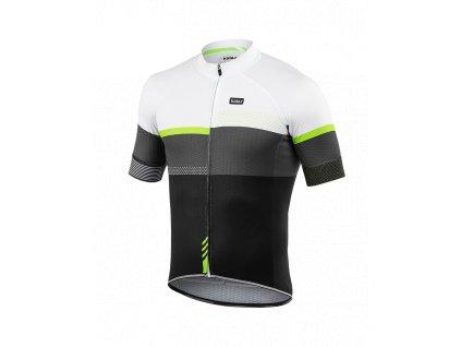 Cyklo sada oblečení Kalas PASSION X9, černá/fluo