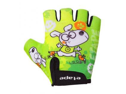 Dětské rukavice Etape Tiny, zelená