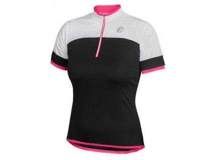 Dámský cyklistický dres Etape Clara, černá/růžová