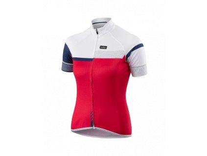 Cyklistický dámský Dres PASSION X9 červený