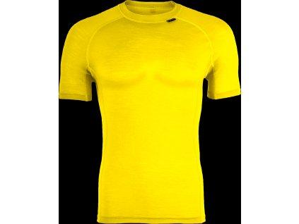 Silvini pánské triko funkční SOANA MT828, yellow