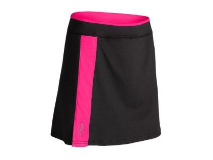 Cyklistická sukně Etape Laura, černá/růžová