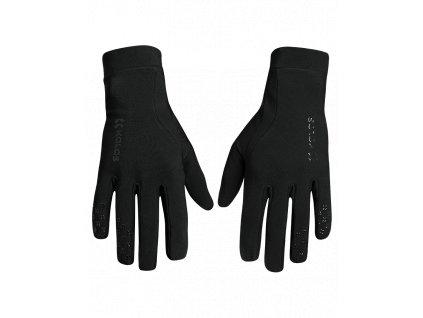Cyklistické dlouhé rukavice Ride on Z1, černé
