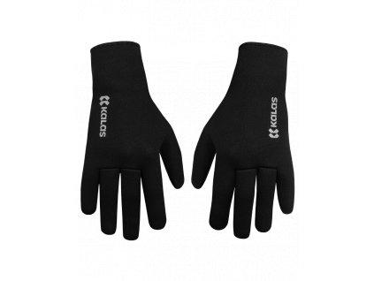 Cyklistické neoprénové rukavice Ride on Z1, černé