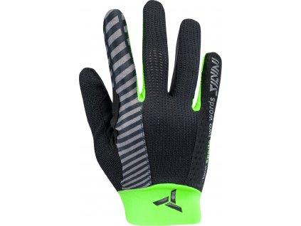 Dětské celoprsté cyklistické rukavice Cervo CA1646 black