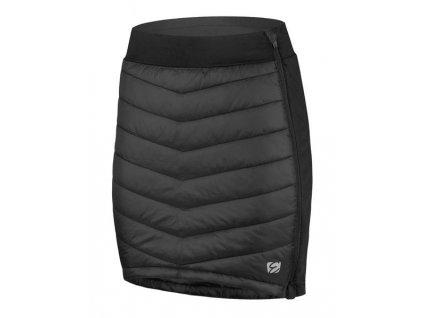 Dámské zateplená sukně Etape Alaska, černá