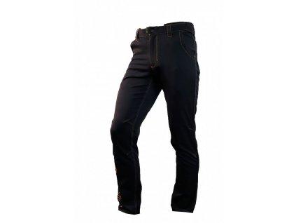 Kalhoty HAVEN FUTURA black/orange
