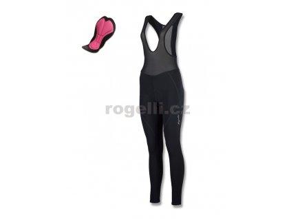 Dámské cyklistické kalhoty Rogelli LIONA, černé