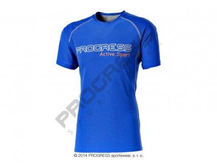 AMON pánské sportovní tričko modrá