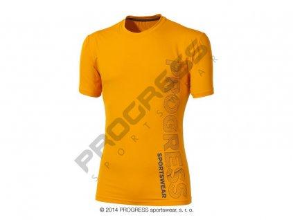 PROGRESS LEROY pánské triko oranžová