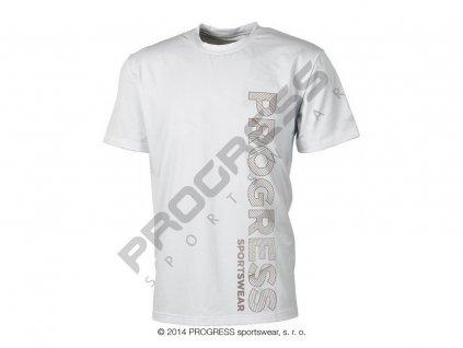 PROGRESS LEROY pánské triko bílá