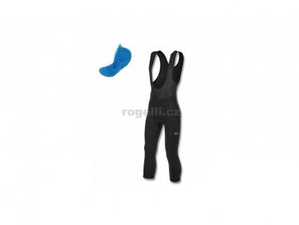 3/4 cyklokraťasy Rogelli BASIC DE LUXE, černé