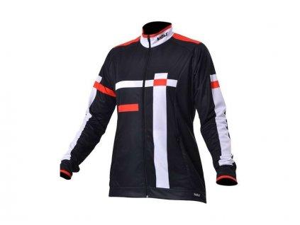 Cyklistická bunda dámská URBAN 12 černý