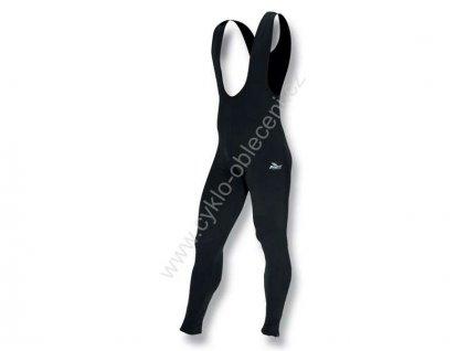 Dětské zimní kalhoty ROGELLI PERANO - se šlemi, černé