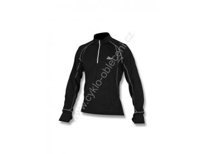 Rogelli CAMBRIA sportovní funkční nátělník, černý