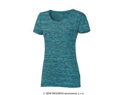 MELISSA dámské triko s krátkým rukávem - modrá