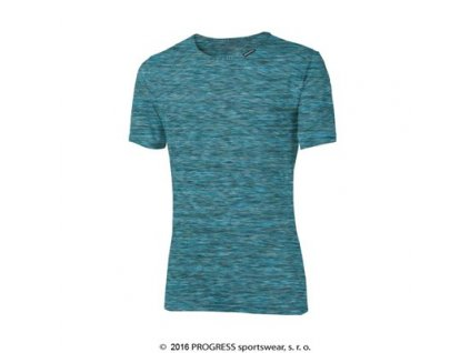 MELIS pánské triko s krátkým rukávem - modrá