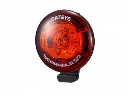 CATEYE Světlo zad. CAT SL-WA10 Wearable mini