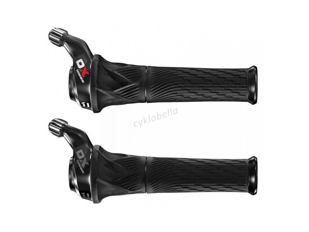 SRAM AM SL X01 GRIP SHIFT 11SP REAR RED