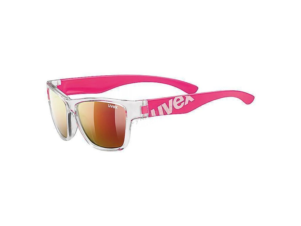 UVEX BRÝLE SPORTSTYLE 508 CLEAR PINK/MIR. RED (9316) | Uni | Množ.