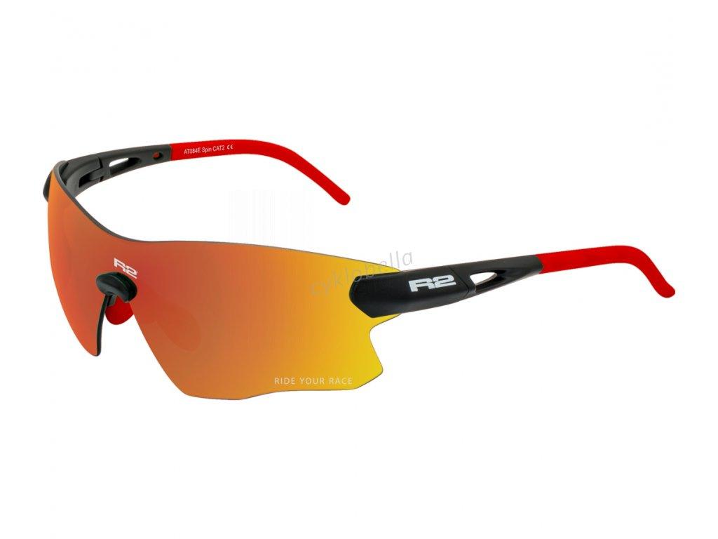 Sportovní sluneční brýle R2 SPIN černé AT084E