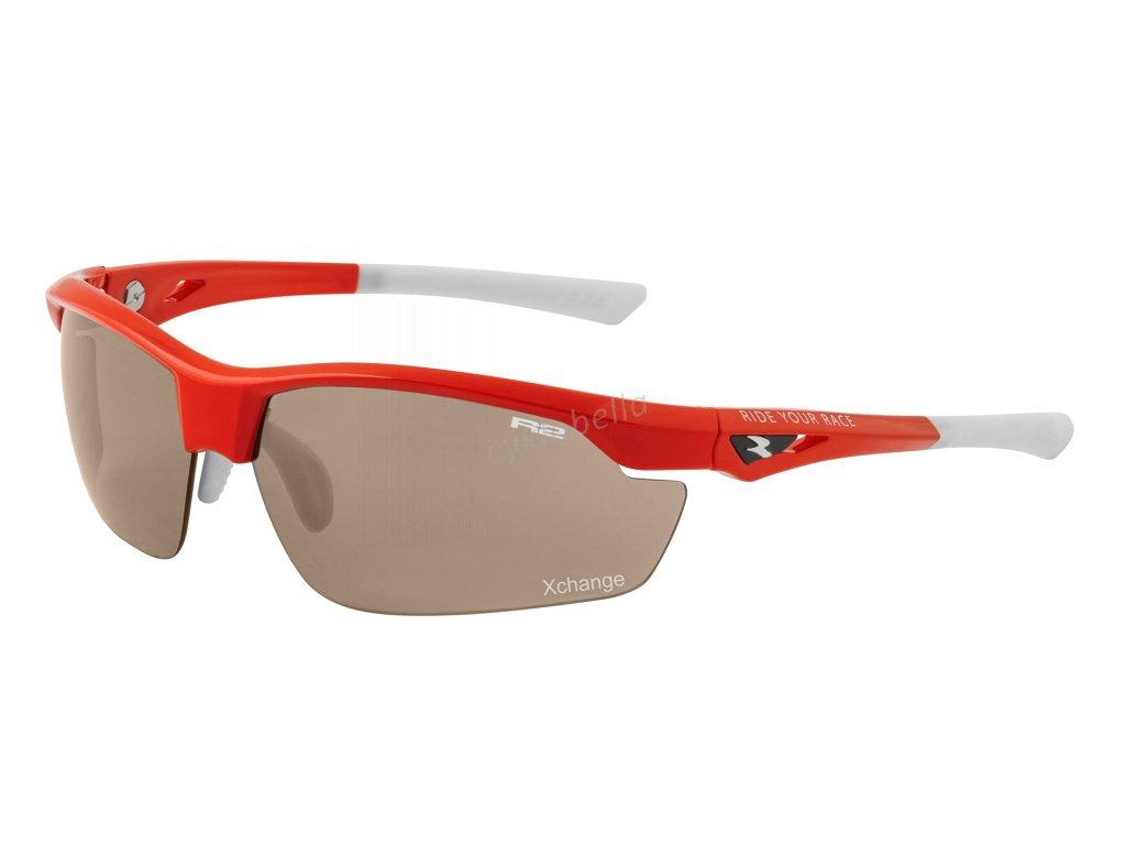 Sportovní sluneční brýle R2 ZET červené AT085B
