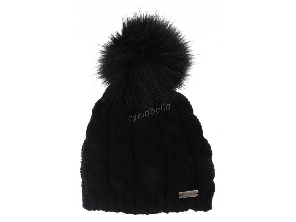 Zimní čepice Relax ROLLY černá RKH16A