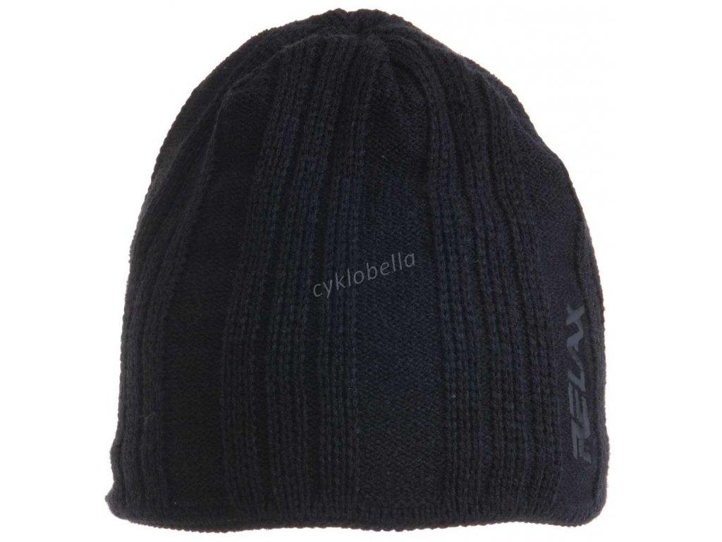 Zimní čepice Relax STRa černá RKH24A