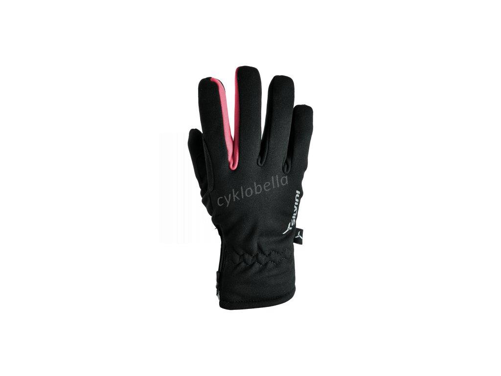 Dámské softshellové rukavice Trelca