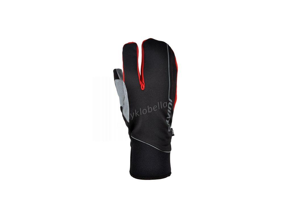 Tříprsté zateplené rukavice Cerreto