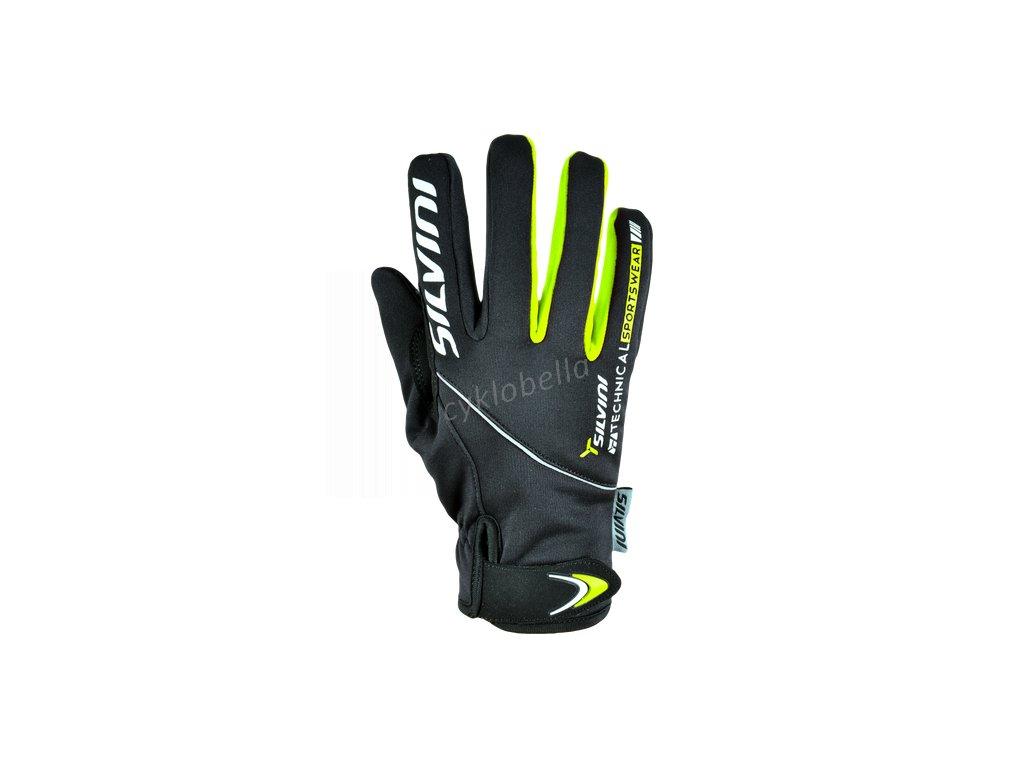 Dámské softshellové rukavice Ortles