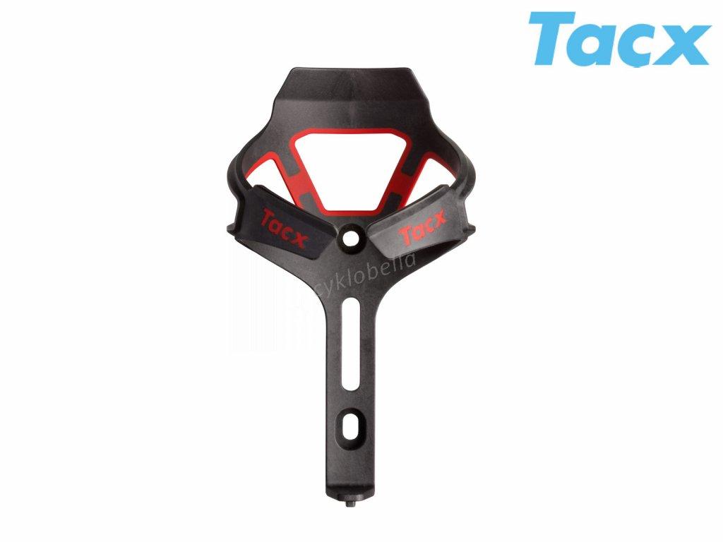 Košík TACX Ciro  (červená-matná/karbon)