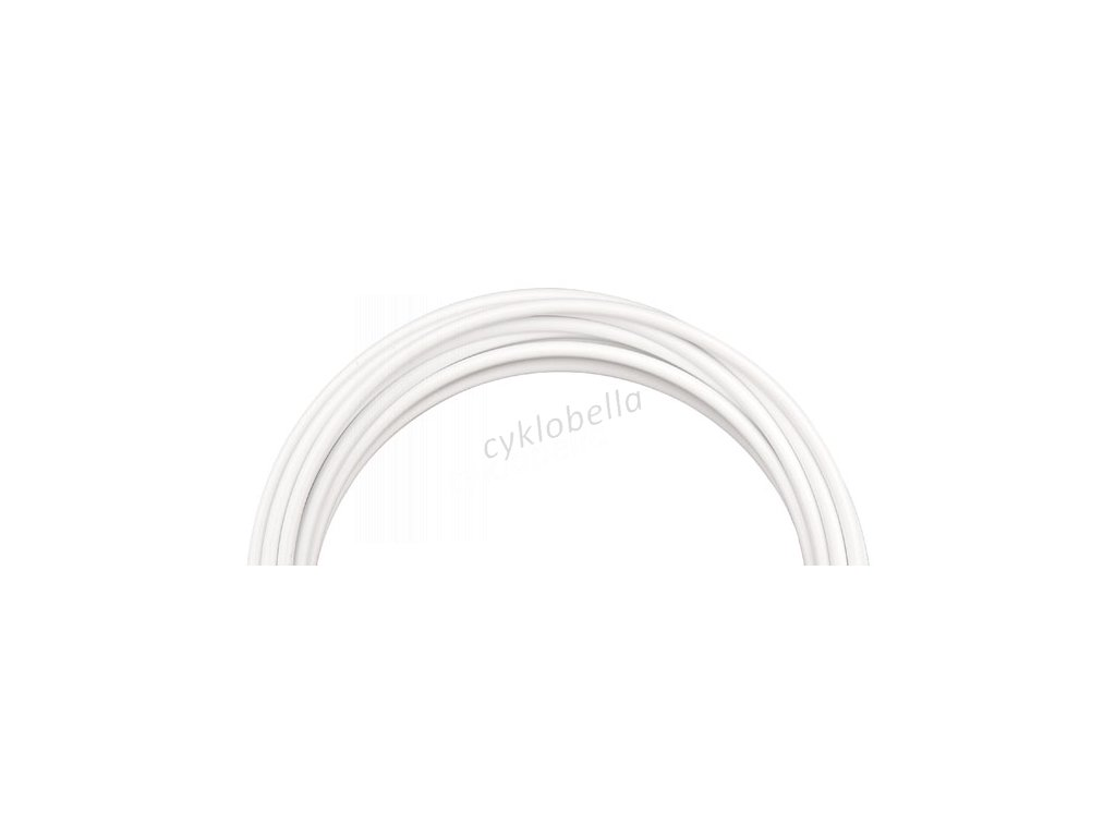 Hadice hydraulické brzdy PRO-T Plus AGR Ultimate 5mm (7,6m) - bílá